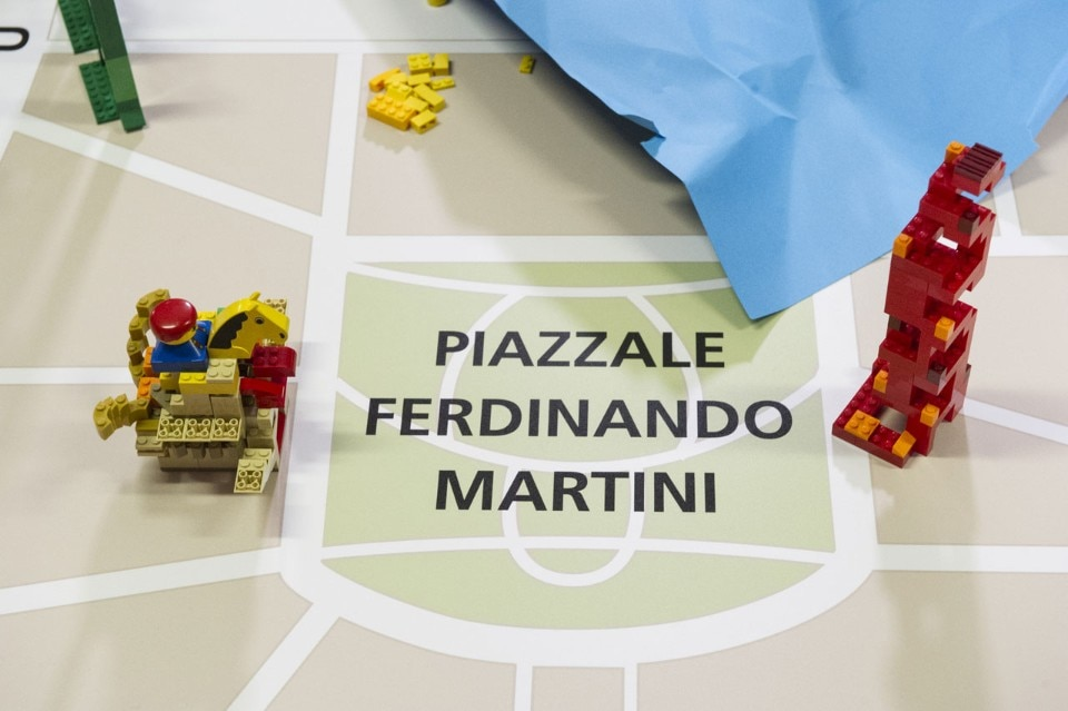 Winy Maas asks school children to imagine the future of Milan with Lego