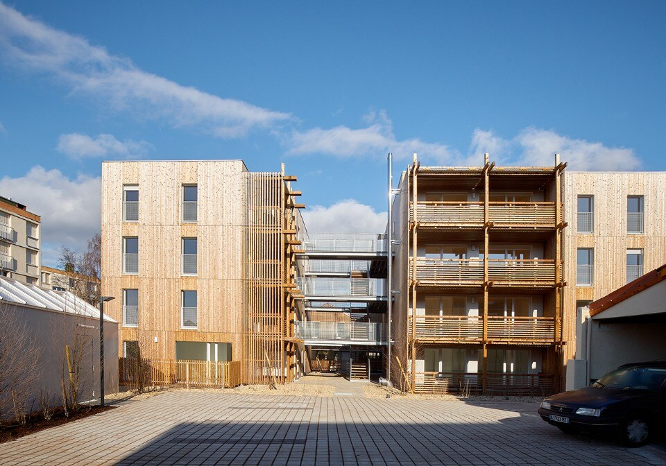 Fig.14 Odile + Guzy Architectes, 26 social housing, Chalon-sur-Saône, Francia, 2017