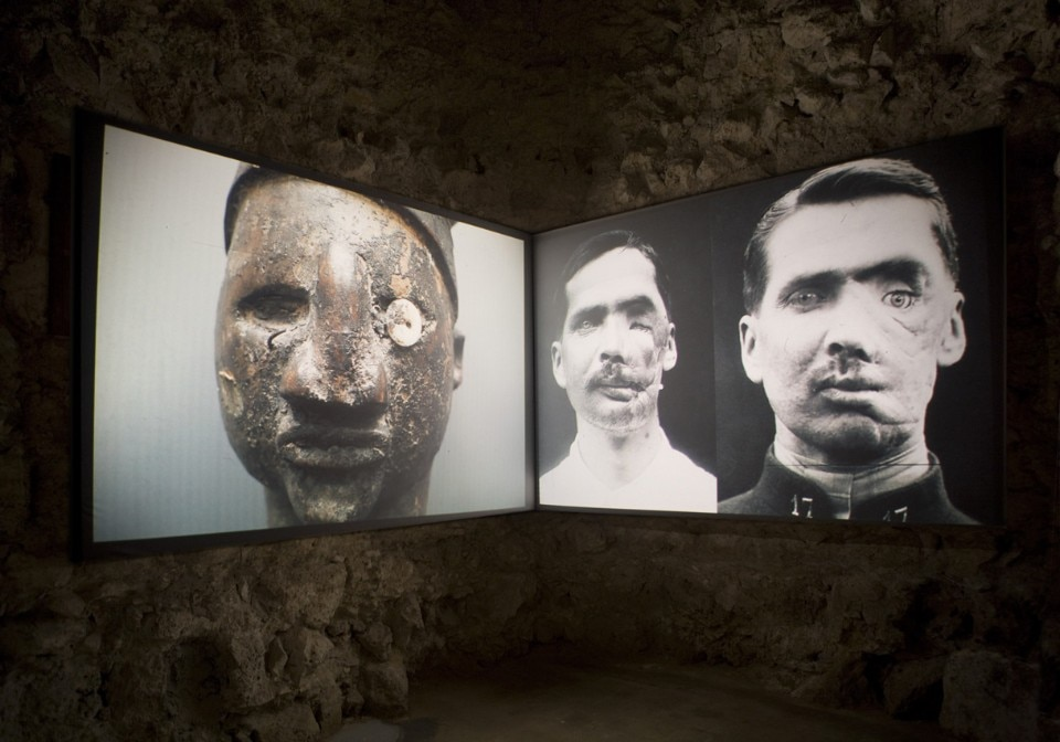 Too early, too late. Kader Attia <i>Open your eyes</i>, 2014