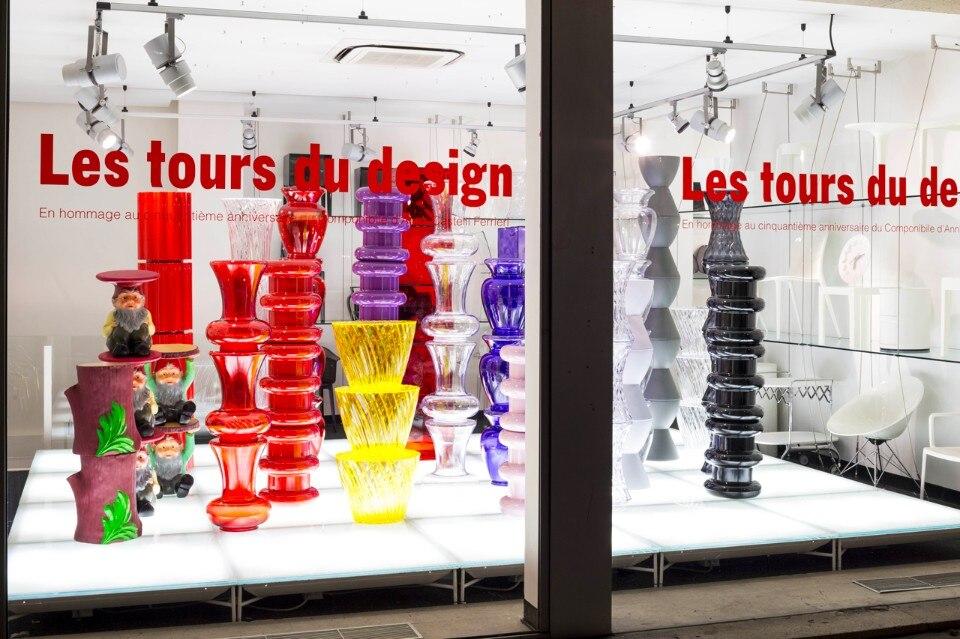 50 anni componibili domus - Kartell boutique paris ...