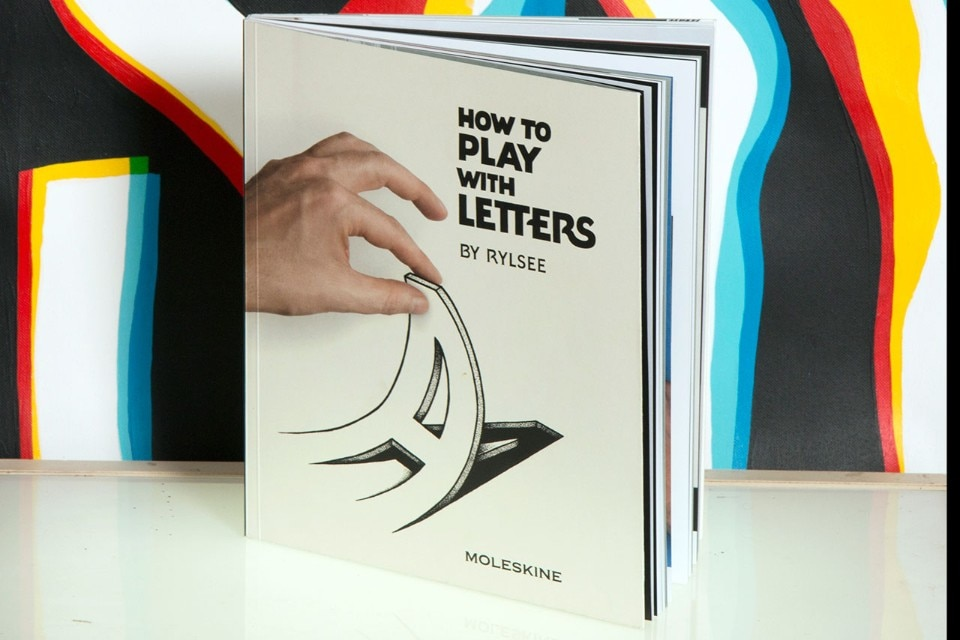 Rylsee, How to Play with Letters, Moleskine Books, 2017. #fridayreads