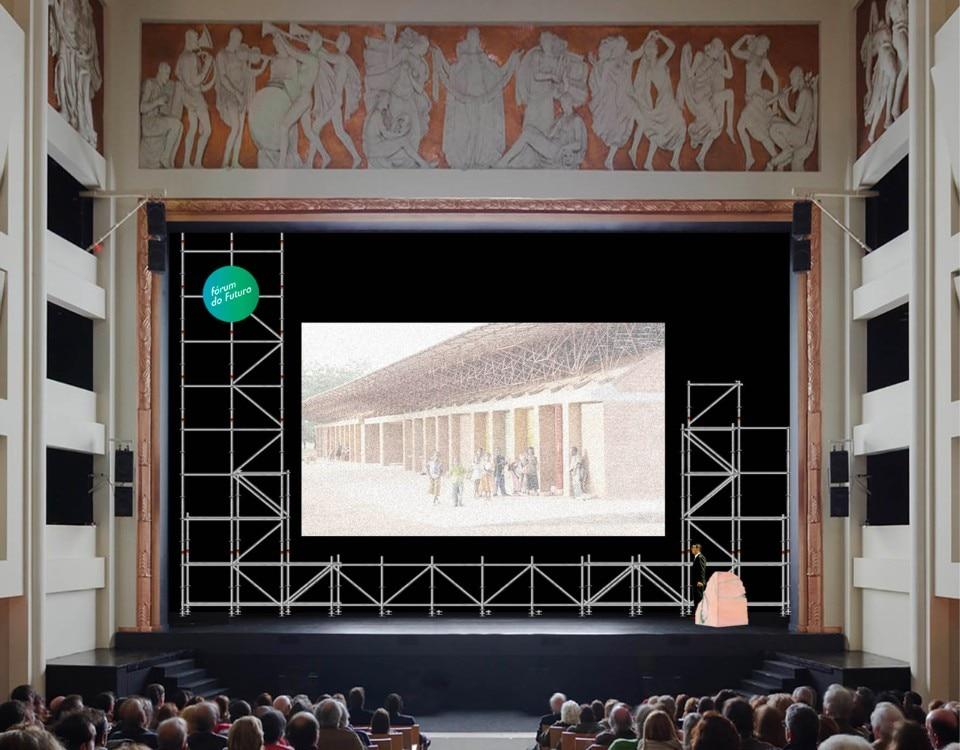 Porto. The Forum do Futuro scenography by Fala Atelier