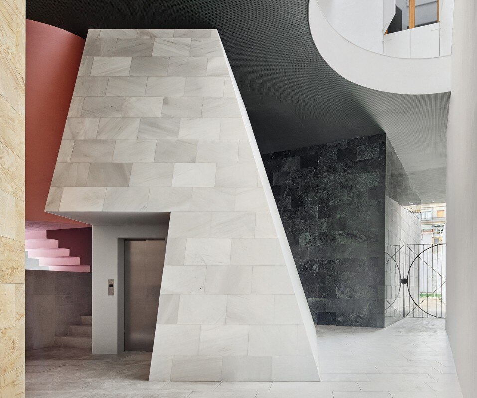 Barcelona. 110 Rooms is a flexible housing block by Maio