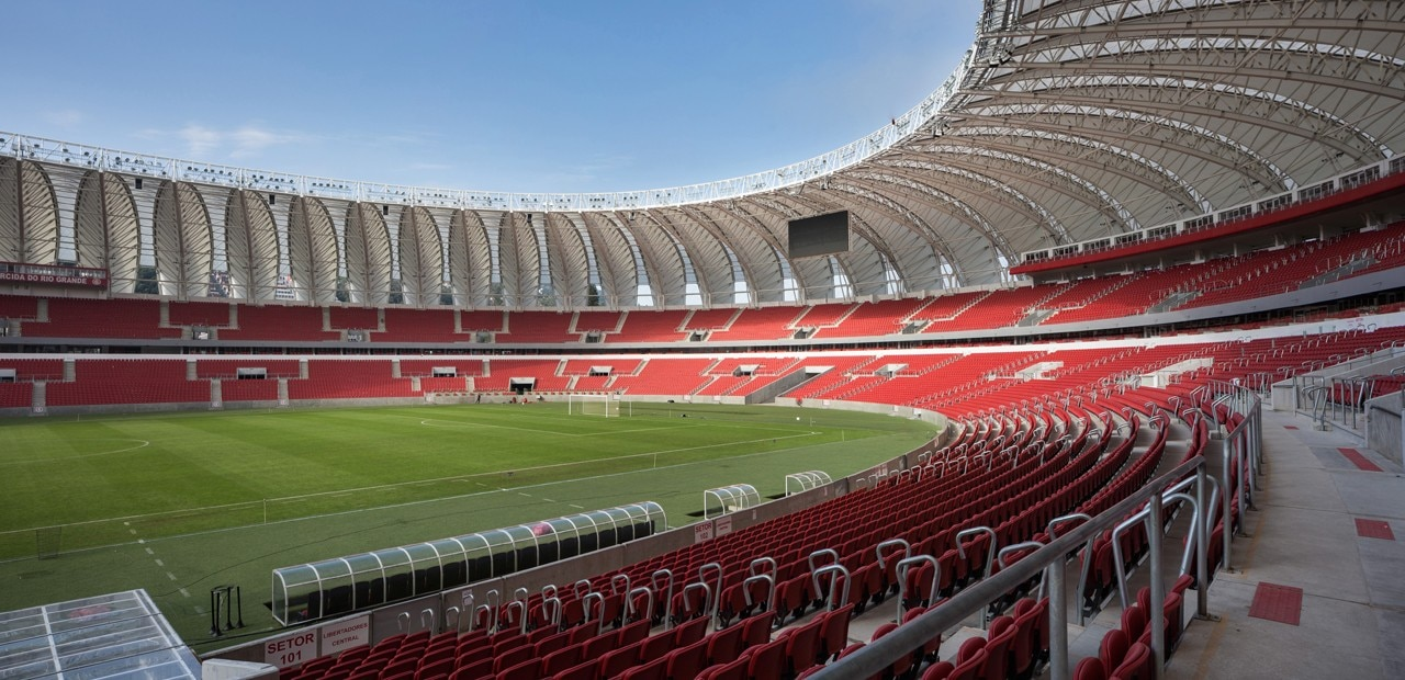Hype Studio And Santini Rocha Architects Are Responsible Of The Inside Outside Renovation Beira Rio Stadium To Get Home SC
