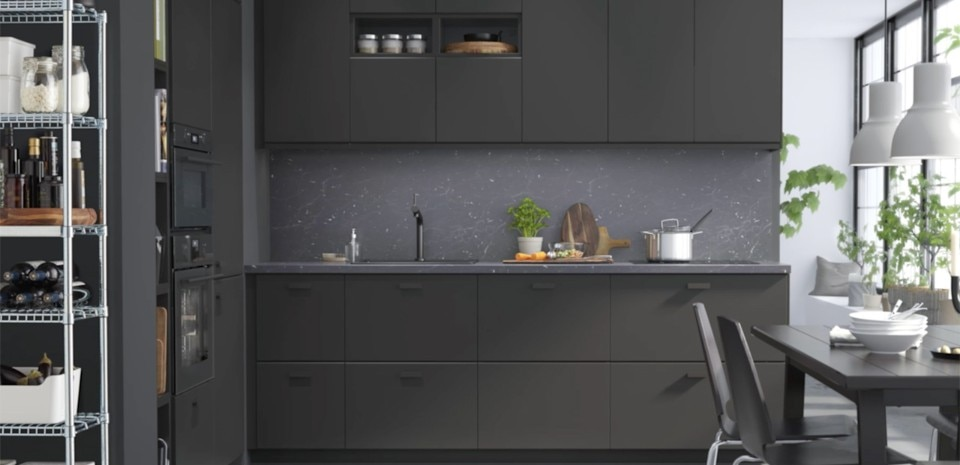 Sustainable kitchen fronts domus for Cuisine kungsbacka